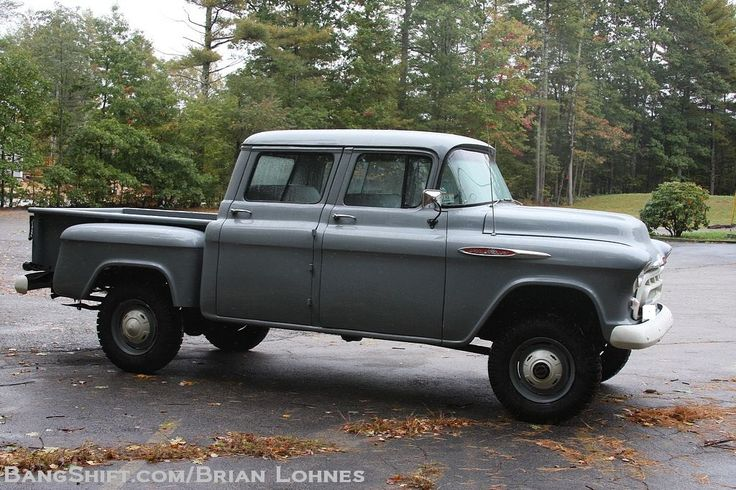 1957 Chevy Factory Orrville Crew Cab Conversion Trucks