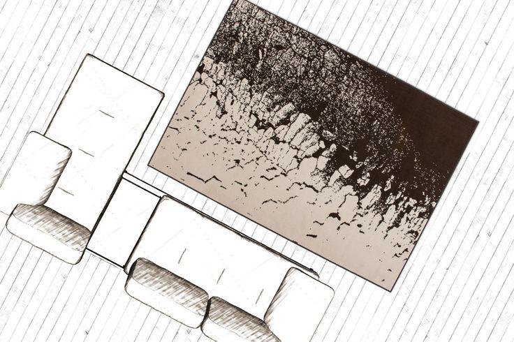 Teppich Fußboden Design USA Philadelphia Beige 160cmx230cm A100904