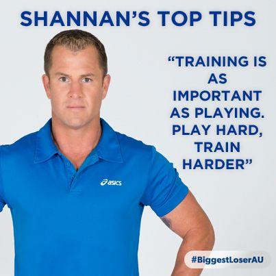 Shannon Ponton's Top Tips   Train harder