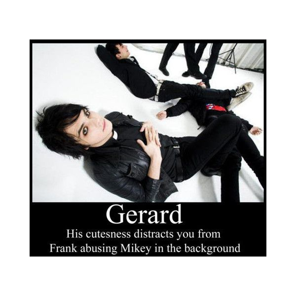 My Chemical Romance funny picture found on Polyvore