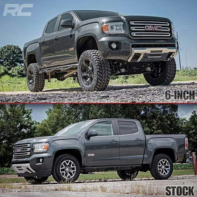 2015 GMC Canyon All Terrain Lifted