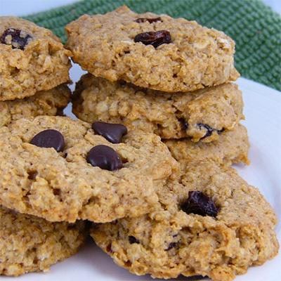 Apple-Cinnamon Oatmeal Cookies (vegan) | Deliciousness | Pinterest