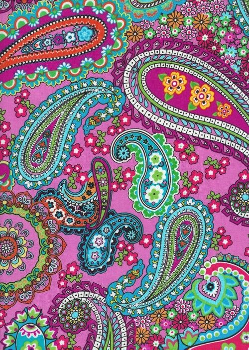 Timeless Treasures fabric: I Love Paris  This fabric would be a great inspiration for freeform motifs