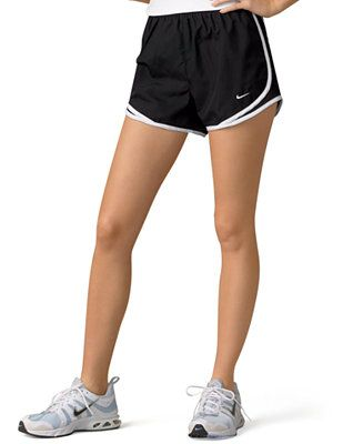 Nike Shorts, Dri-FIT Black Tempo Track - Nike - Women - Macy's