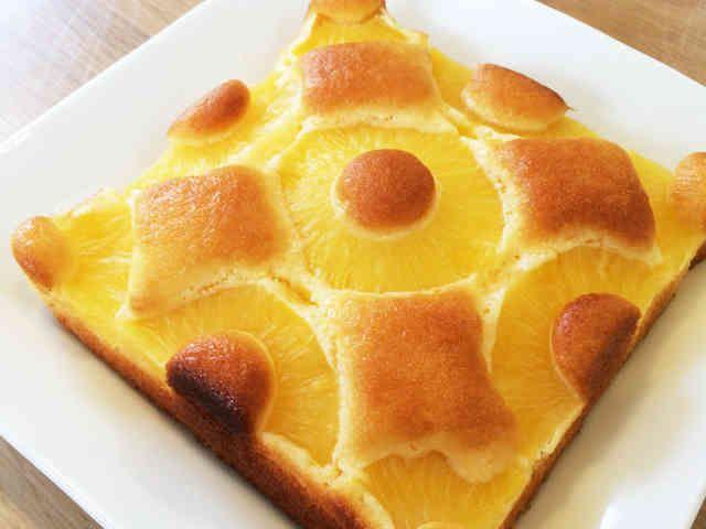 パイナップル缶で簡単パイナポーケーキの画像