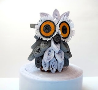 3D Quilling: Baby Owl