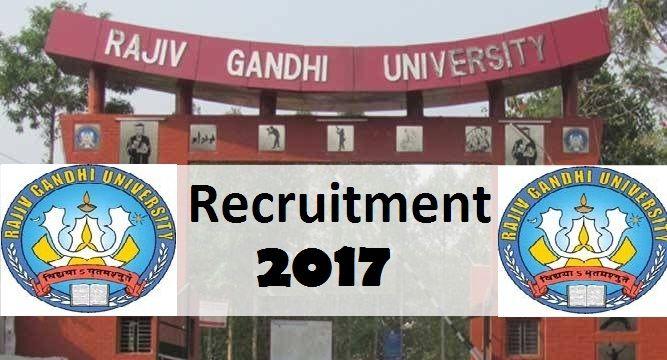 Rajiv Gandhi University-recruitment-39 vacancies-Professor/Associate Professor/Assistant Professor/Various Vacancies-Apply Now-Last date 25 January 2017  Advt. No. : Estt./Teach-142/Advt./2016  Job Details :  Post Name : Professor No. of  Vacancy : 13 Posts Pay Scale : Not Specified Post Name : Associate Professor No. of  Vacancy : 13 Posts Pay Scale : Not Specified Post Name : Assistant Professor No. of  Vacancy : 09 Posts Pay Scale : Not Specified Eligibility Criteria :