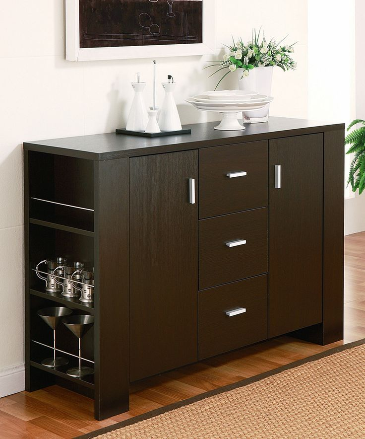 Another great find on #zulily! Multi-Functional Cappuccino Dining Server by Furniture of America #zulilyfinds