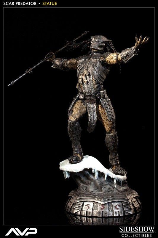 Alien vs. Predator Statue 1/5 Scar Predator 49 cm