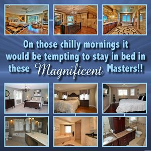 Magnificent Master Bedrooms