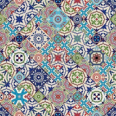 azulejos azules Patrn de mosaico Mega magnfico fluida de coloridos azulejos  Fondos  Azulejos azules Azulejos y Patrones de mosaico