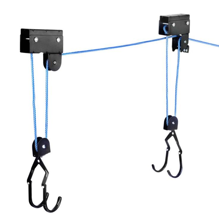 Premium Kayak Hoist Bike Lift Pulley System Garage Ceiling