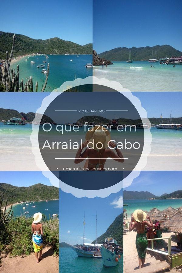 Dicas do que fazer em Arraial do Cabo no Rio de Janeiro, classificado como um dos lugares do Brasil com as praias mais belas do país.