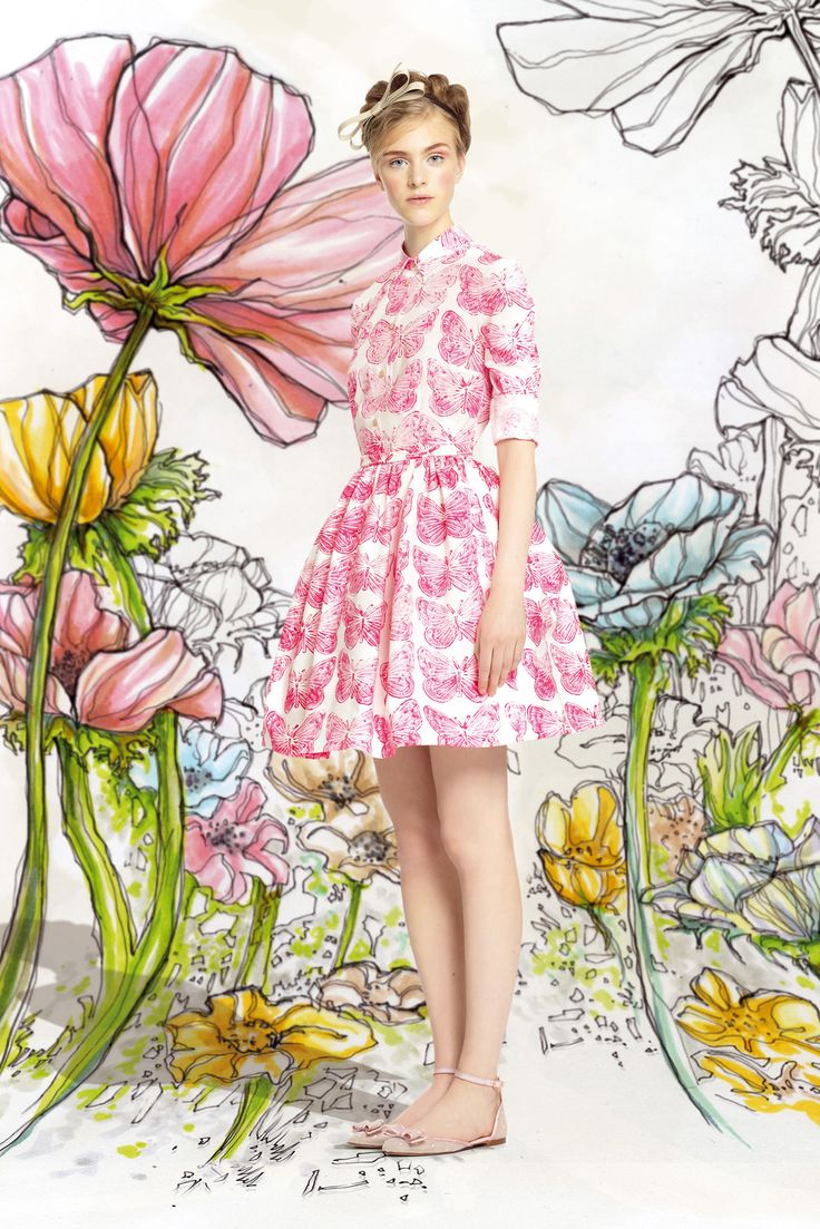 Red Valentino Spring 2014 Ready-to-Wear Collection Slideshow on Style.com