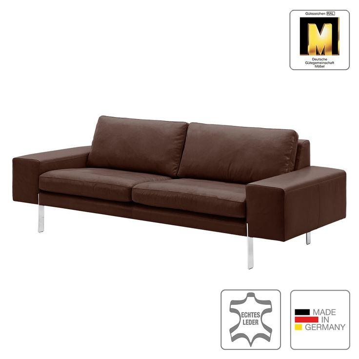 Sofa Topal (3-Sitzer) - Echtleder - Dunkelbraun - Ohne Kissen, Machalke Polsterwerkstätten Jetzt bestellen unter: https://moebel.ladendirekt.de/wohnzimmer/sofas/2-und-3-sitzer-sofas/?uid=296ee6bc-102a-54a1-8f8c-a5a8e9c4cc83&utm_source=pinterest&utm_medium=pin&utm_campaign=boards #möbel #sofas #3sitzersofas #polsterwerkstätten #wohnzimmer #machalke #couches