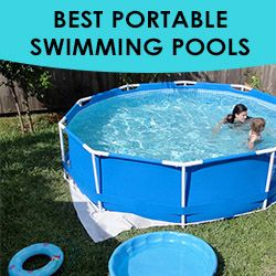 What is a portable swimming pool? A portable swimming pool is pretty much exactly as it sounds. It is a swimming pool that can be moved and relocated if needed. Most portable swimming pools are...