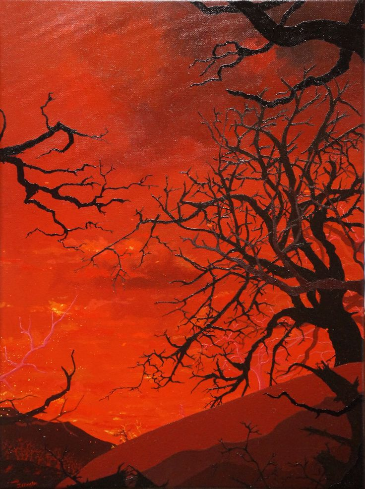 'Red', oil on canvas, 40 x 30cm. www.jeremyelkington.weebly.com For sale at: www.bluethumb.com