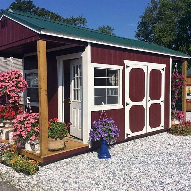 Made for sunny days! 😎 #360Sheds #1LotInVa #NowTheLargest #RVA #Storage #Portable #Shed #Sheds #PottingShed #Crafting #Garage #GardenShed #RentToOwn #ShedToHome #ShedToHouse #Playhouses
