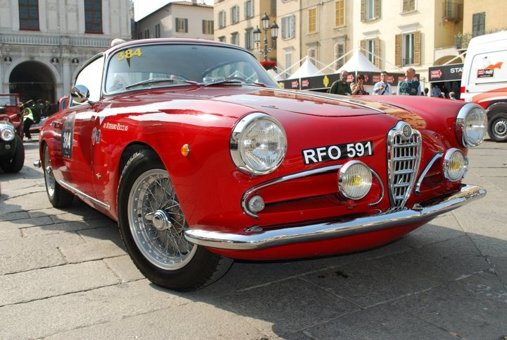 Historical Alfa Romeo from Mille Miglia 2011Alfaromeo