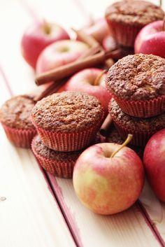 Suikervrij tussendoortje? Vezelrijke appeltaart muffins!