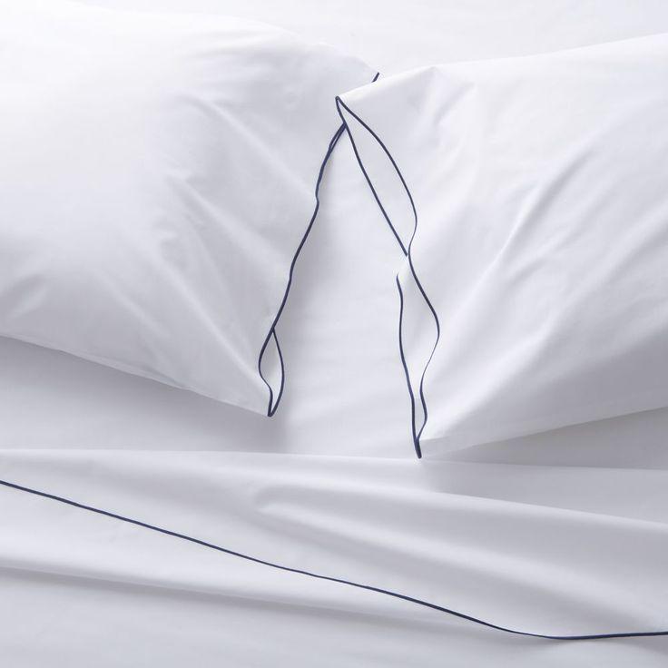 Belo Blue Extra-Long Twin Sheet Set