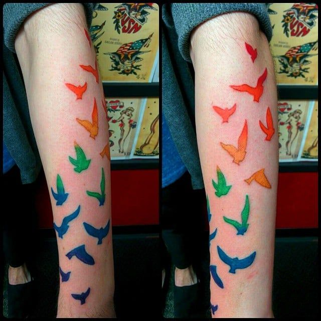 38 best gay pride tattoos images on pinterest lgbt tattoos tatoos and awesome tattoos. Black Bedroom Furniture Sets. Home Design Ideas