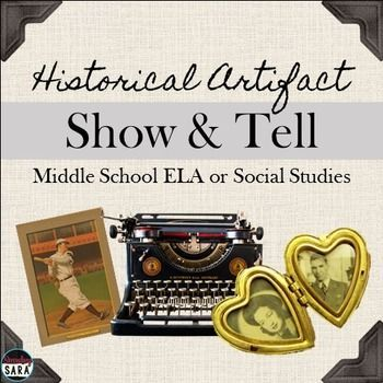 show not tell writing activity for middle school