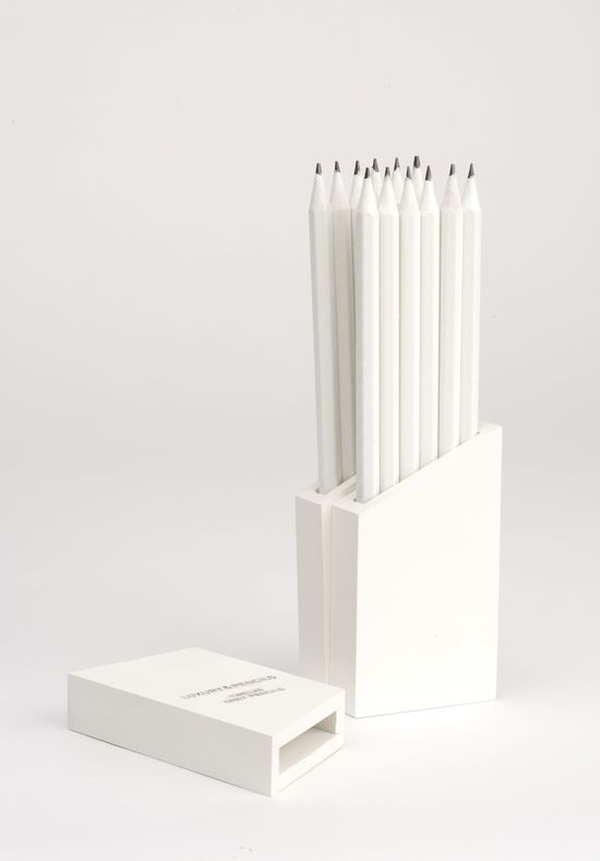 So drawn to these! I don't know why. They are just white pencils...