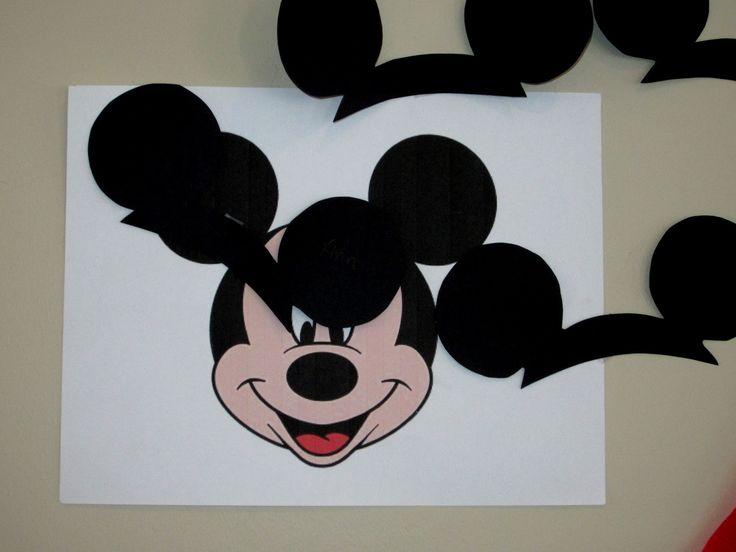 die besten 25 mickey mouse k che ideen auf pinterest. Black Bedroom Furniture Sets. Home Design Ideas