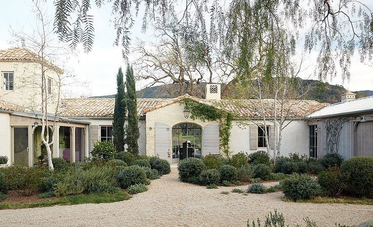 Inside a Sprawling Ojai Oasis with Flawless Design LOTS of good ideas including garden and chicken house.