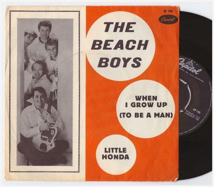 BEACH BOYS SINGEL på Tradera.