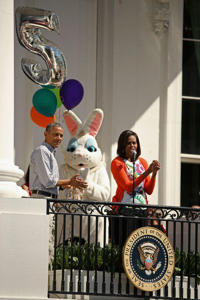 Michelle Obama Photos - White House Hosts Annual Easter Egg Roll On The South Lawn - Zimbio