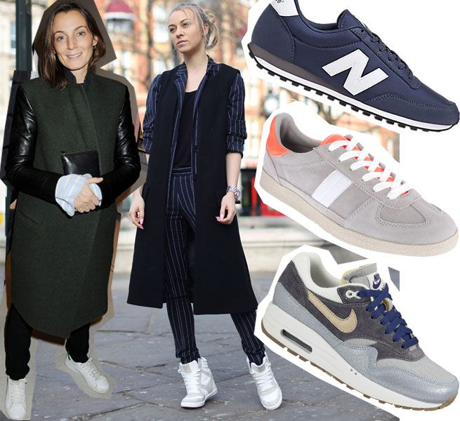 Sneakers Sales Are Booming: Here's Four Ways To Wear Them NOW! | Grazia Fashion