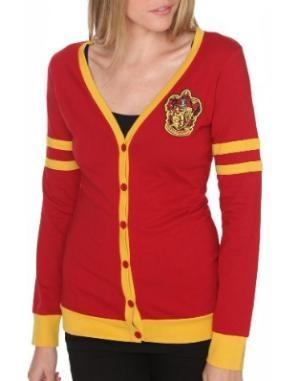 Harry Potter Gryffindor Varsity Girls Cardigan: Clothing  Cute: Houses Colors, Gryffindor Varsity, Clothing, Cute Sweaters, Harry Potter, Varsity Girls, Gryffindor Cardigans, Girls Cardigans, Potter Gryffindor