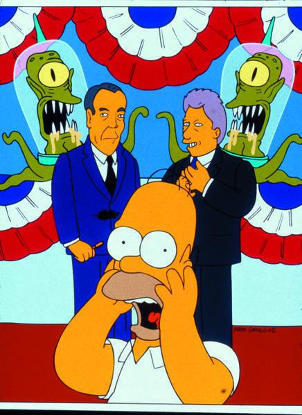 Treehouse of Horror VII season 8 episode 1