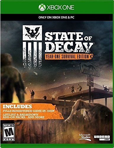 State of Decay Year-One Survival Edition Xbox One Physical Game Disc US