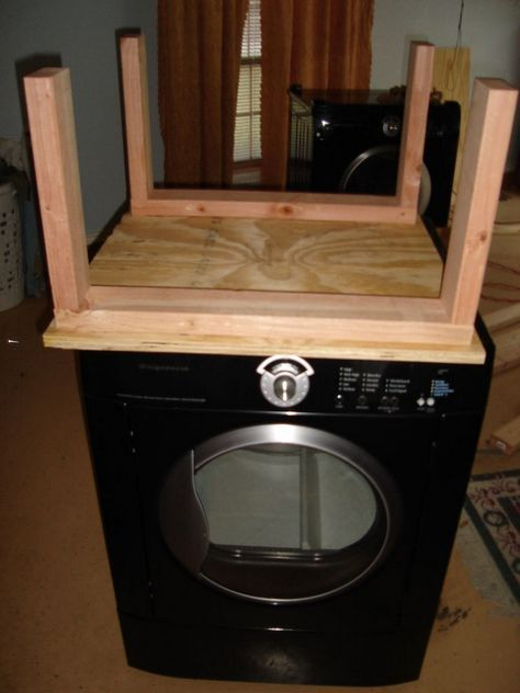 diy washing machine | Now paint that beautiful work of art to match your washer and dryer.