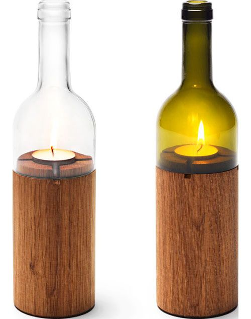 Wine bottle recycled | Recycle & Repurpose | Pinterest