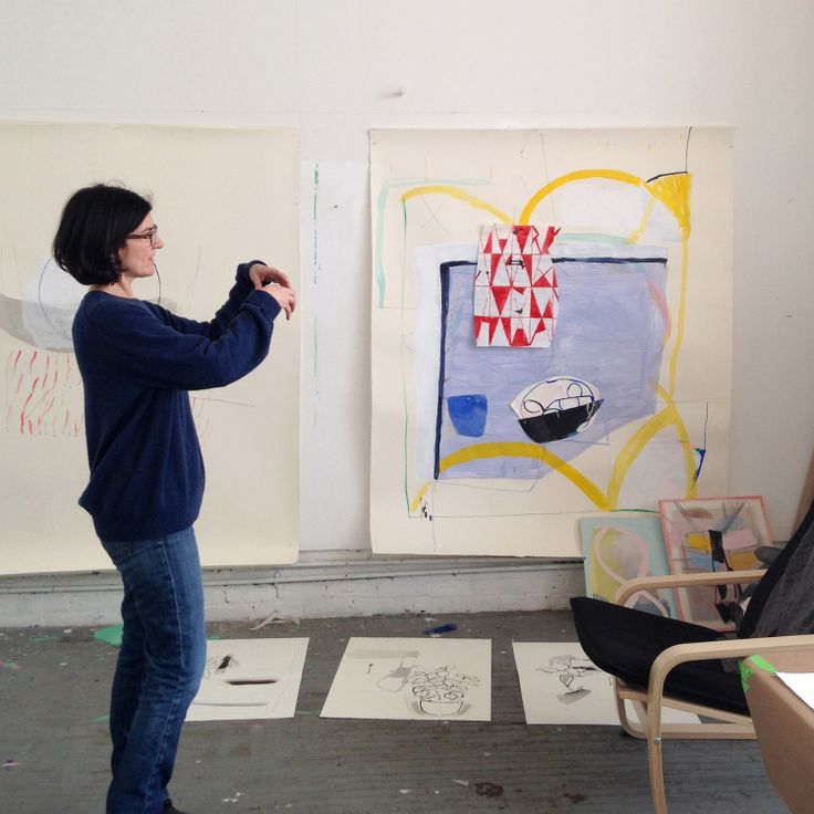 Studio visit with Vicki Sher, Brooklyn, NY