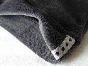 Couture invisible à la surjeteuse