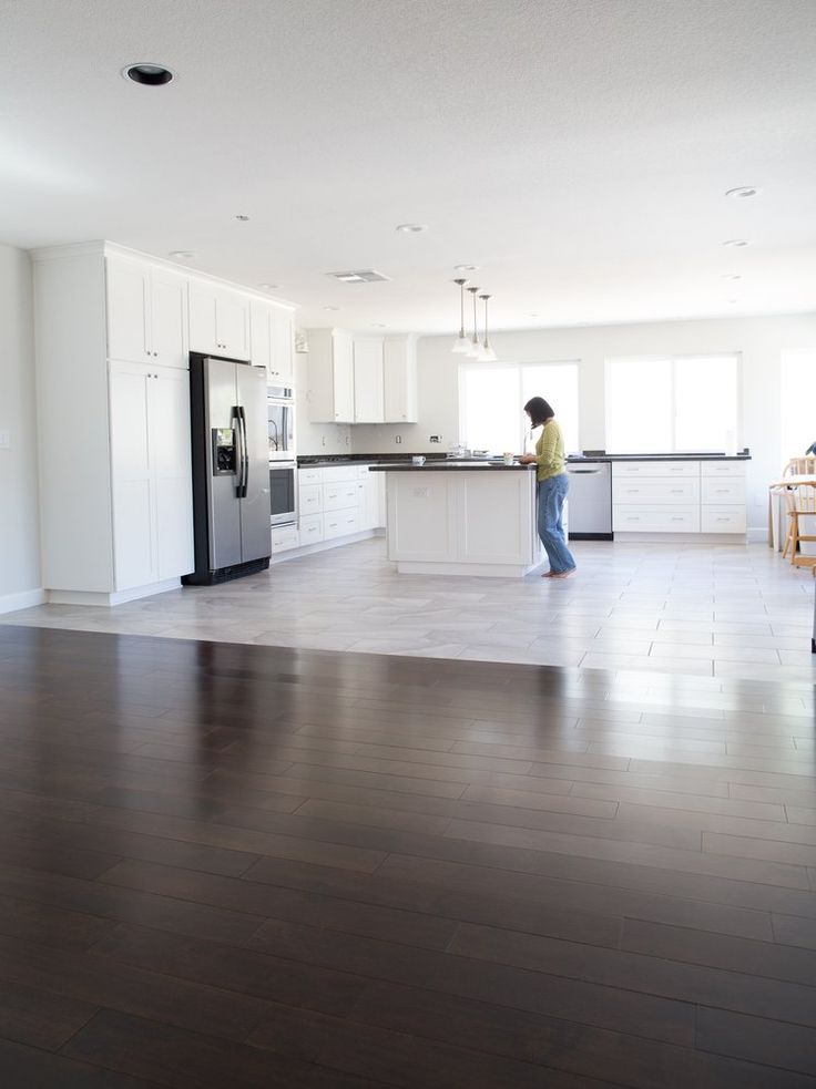 Garcia 39 s flooring orange ca united states seamless for Flooring transition from kitchen to family room