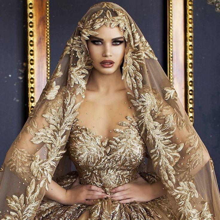Bild über Kleid in der goldenen Hochzeit von Miracle Kalonga – Vanity – #Image …   – Hochzeitskleider