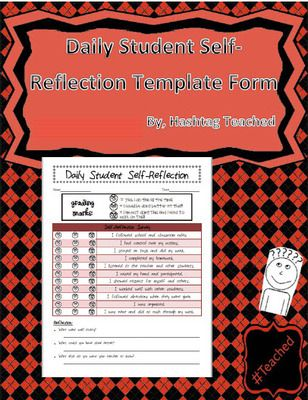 8 best human rights in the classroom images on pinterest human daily student behavior self reflection tracker form template from hashtagteached on teachersnotebook fandeluxe Gallery