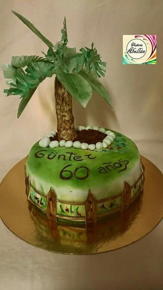 Tarta palmera de oblea