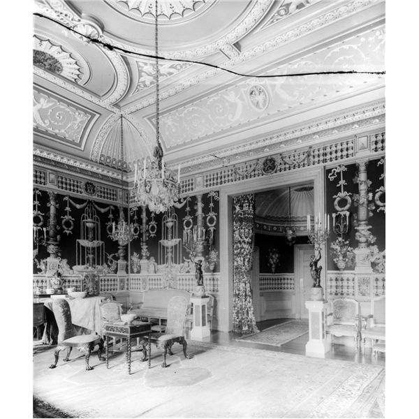 Saloon, Copped Hall, Essex, Destroyed 1917