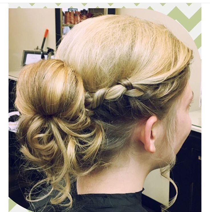 Prom, pageant, or formal updo
