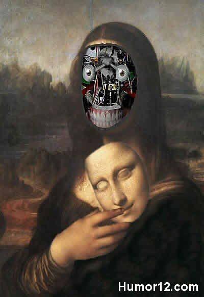 Mona Lisa-- Mona Lisa Parodies #Joconde