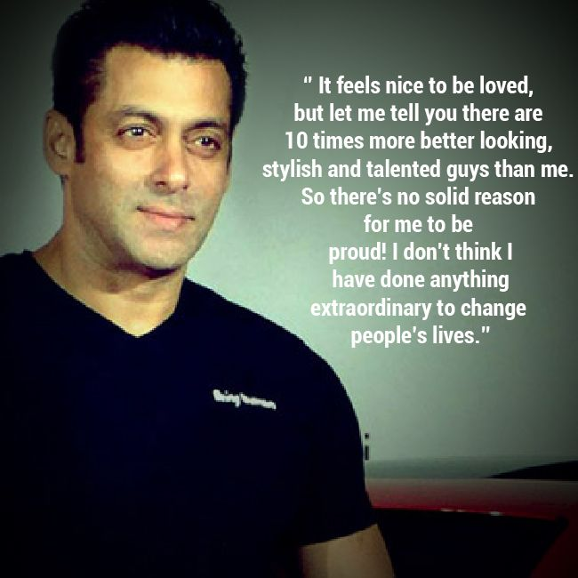 Salman Khan Quotes, Sayings & Images - Motivational Lines, Salman Khan quotes on life love humanity bollywood movies acting srk box office films islam india