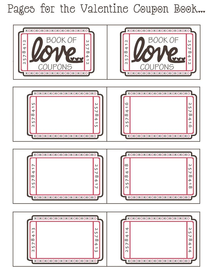 103 best For Trempas ♡ images on Pinterest Gift ideas, Love of - free coupon book template