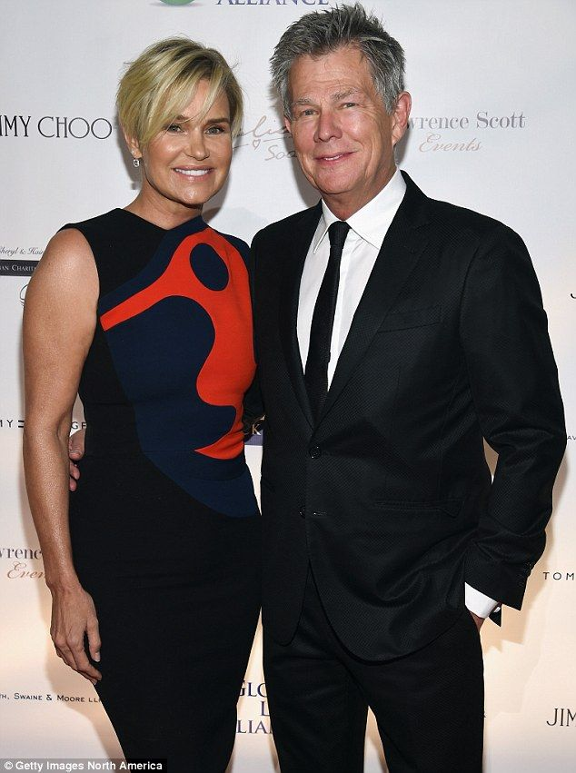 Yolanda Hadid And David Foster Put Differences Aside For Gigi S Party Yolanda Foster Celebrities Yolanda Hadid